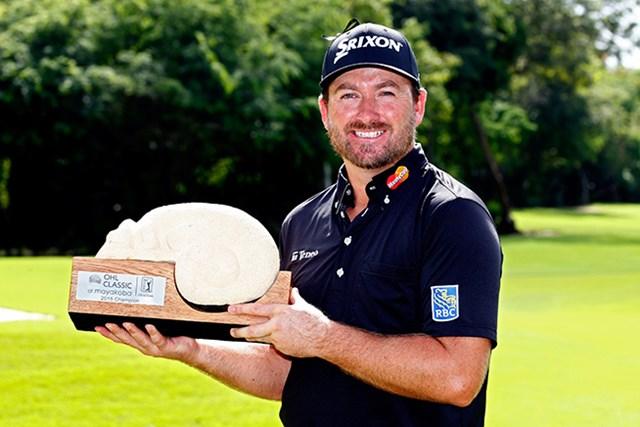 グレーム・マクドウェルがプレーオフを制して今季初優勝を飾った(Jamie Squire/Getty Images)