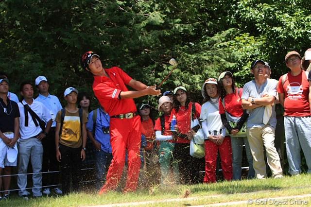 2009年 ~全英への道~ミズノオープンよみうりクラシック 最終日 石川遼 最終日勝負の赤できたプロと赤い味方達。