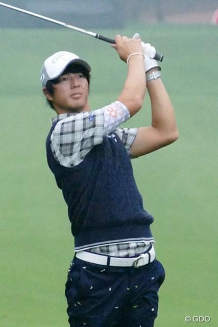 石川遼は開幕2日前に9ホールを回ったが、事前ラウンドはこの1日となった