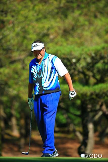 2015年 ダンロップフェニックストーナメント 初日  尾崎将司 今日は16番終了後棄権。