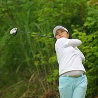 この日「68」で回って2位タイに入った姜如珍 2009年 日医工カップ 最終日 姜如珍