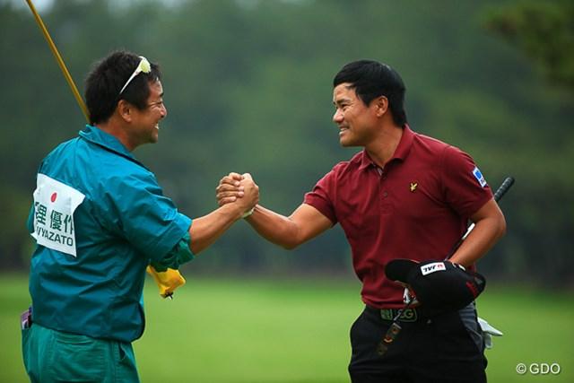 2人でつかんだツアー3勝目。宮里優作は杉澤キャディのシンプルな情報を自在に扱った