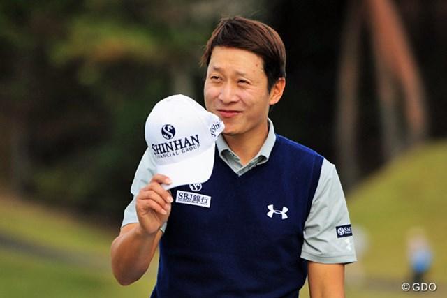 金庚泰は2010年以来となる賞金王奪還なるか※画像は「マイナビABCチャンピオンシップゴルフトーナメント」