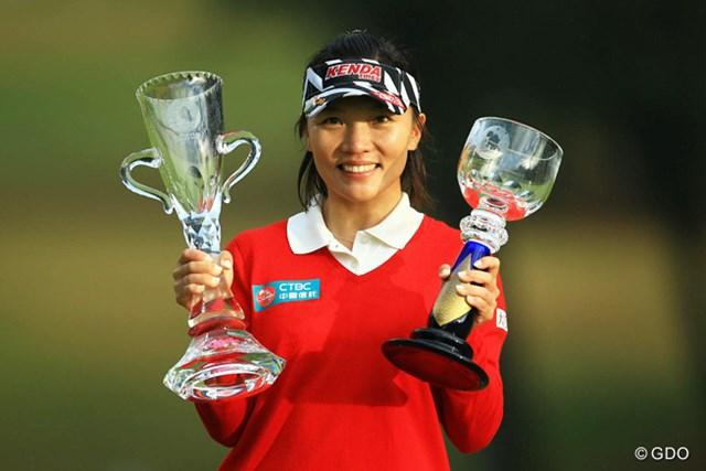 2015年 LPGAツアー選手権リコーカップ 事前 テレサ・ルー 前年はテレサ・ルーが「日本女子オープン」に続くメジャー2勝目で最終戦を制した