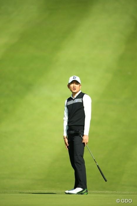 あーそれは残念な顔だ。 2015年 カシオワールドオープンゴルフトーナメント 初日 K.T.ゴン