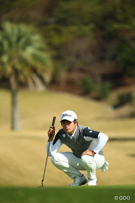 S-H.ペクと大違い 2015年 カシオワールドオープンゴルフトーナメント 初日 キム・スンヒョグ