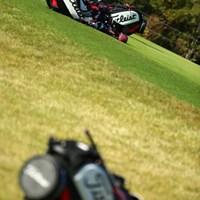 この組、全員タイトリスト。 2015年 カシオワールドオープンゴルフトーナメント 初日 第5組