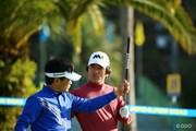 2015年 カシオワールドオープンゴルフトーナメント 初日 竹谷佳孝 チェ・ホソン