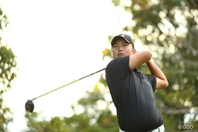 2015年 カシオワールドオープンゴルフトーナメント 初日 小林伸太郎 第1シード争確保へ。2位の好位置で初日を終えた小林伸太郎
