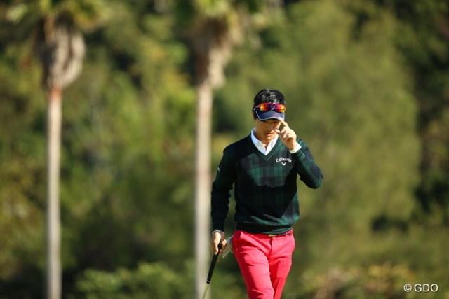 2015年 カシオワールドオープンゴルフトーナメント 2日目 石川遼 石川遼は7つのバーディを量産し首位に躍り出た