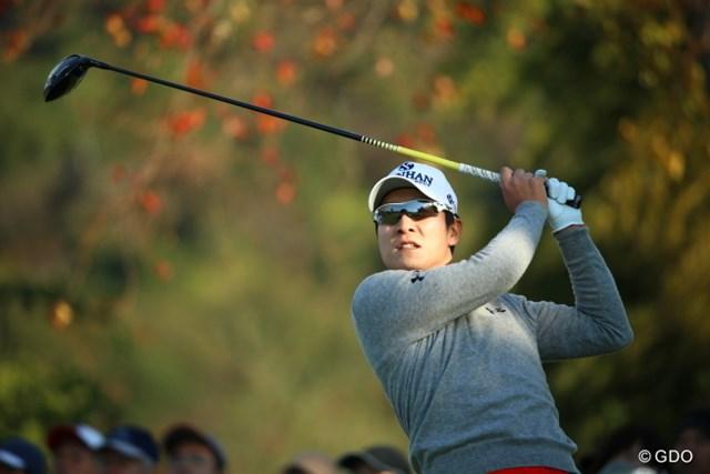 2015年 カシオワールドオープンゴルフトーナメント 2日目 キム・キョンテ 賞金王まであと2日?