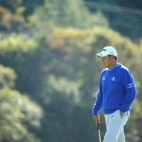 同じ埼玉県人として頑張ってほしいのだ。 2015年 カシオワールドオープンゴルフトーナメント 2日目 甲斐慎太郎