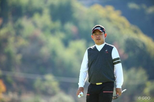 2015年 カシオワールドオープンゴルフトーナメント 2日目 平塚哲二 フレンチ平塚。僕が勝手にそう呼んでいるだけです。