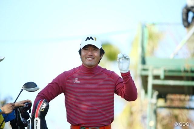 2015年 カシオワールドオープンゴルフトーナメント 2日目 チェ・ホソン めっちゃゴキゲンだった虎さん。