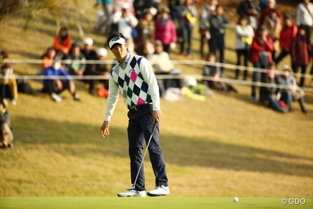 2015年 カシオワールドオープンゴルフトーナメント 3日目 石川遼 2度の3パットを含む32パット。1打差リードに詰め寄られ最終日を迎えることになった石川遼