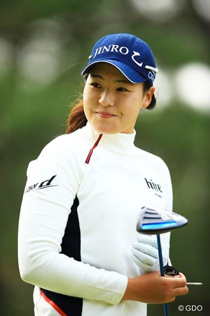 2015年 LPGAツアー選手権リコーカップ 3日目 チョン・インジ 韓国ツアーで4冠達成のチョン・インジが次に目指すのは・・・