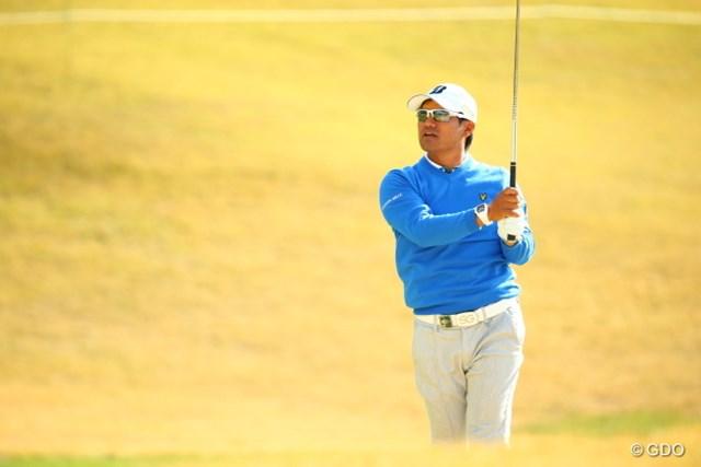 2015年 カシオワールドオープンゴルフトーナメント 3日目 宮里優作 太陽の光が味方。