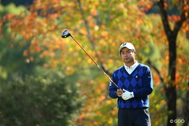 2015年 カシオワールドオープンゴルフトーナメント 3日目 池田勇太 さっき4パットしたから目が虚ろ?