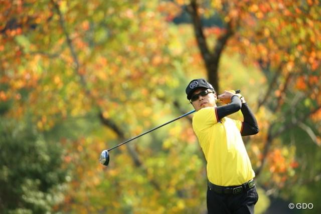 2015年 カシオワールドオープンゴルフトーナメント 3日目 片山晋呉 首位と7打差から3打差に急接近。大会連覇へ望みをつないだ片山晋呉