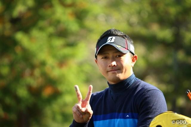 2015年 カシオワールドオープンゴルフトーナメント 3日目 片岡大育 地元でいつか勝ちたいね。