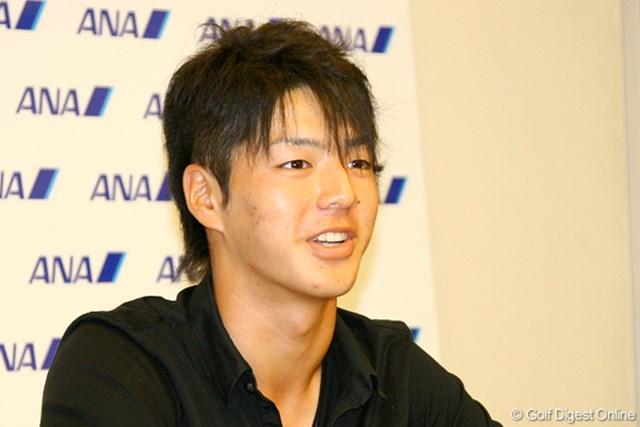 2009年 石川遼「全英オープン」へ向け渡欧 髪型は変わっても、攻めのプレースタイルは「全英」でも変わりません!