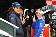 2015年 LPGAツアー選手権リコーカップ 最終日 チョン・インジ キム・ハヌル
