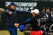 2015年 LPGAツアー選手権リコーカップ 最終日 申ジエ チョン・インジ