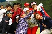 2015年 LPGAツアー選手権リコーカップ 最終日 記念撮影