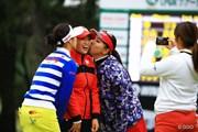 2015年 LPGAツアー選手権リコーカップ 最終日 イ・ボミ キム・ハヌル 吉田弓美子