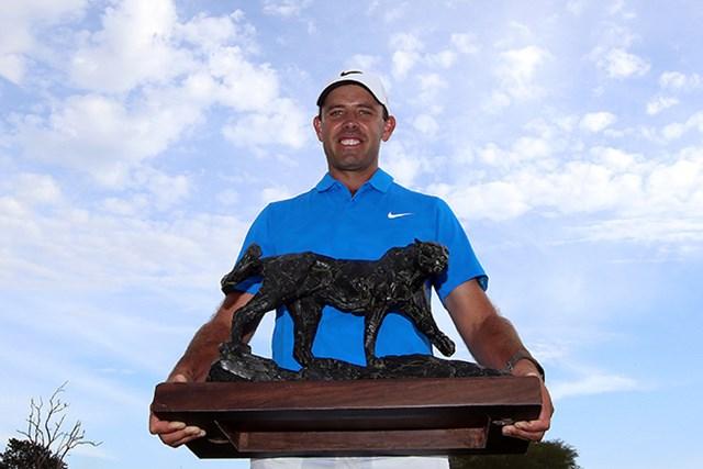 シュワルツェルが2年ぶり4度目となる大会制覇で開幕戦を飾った(Jan Kruger/Getty Images)