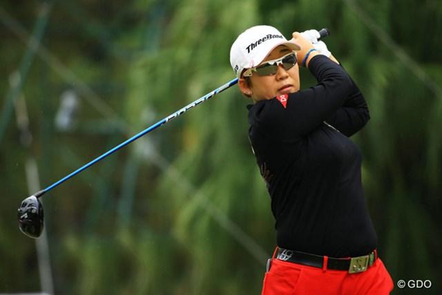2015年 LPGAツアー選手権リコーカップ 最終日 申ジエ 申ジエが最終日に突き抜け、自身初の国内メジャータイトルを獲得した
