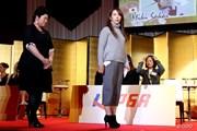 2015年 THE QUEENS presented by KOWA 事前 酒井美紀&笠りつ子