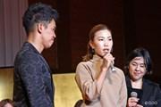 2015年 THE QUEENS presented by KOWA 事前 上田桃子&武井壮