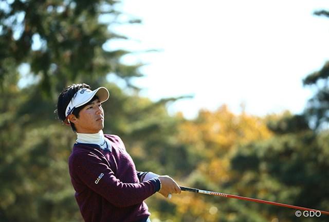 通算4アンダーとした石川遼が小田孔明、ハン・ジュンゴンと並び首位に立った