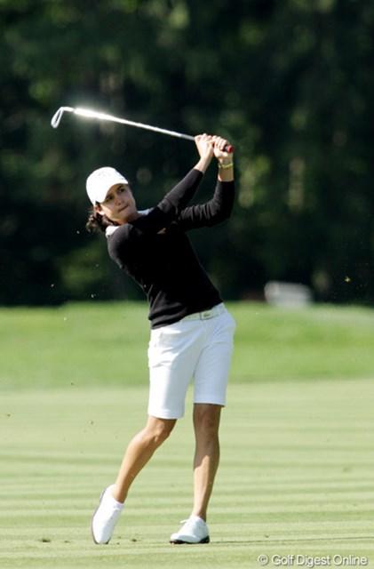 2009年 全米女子オープン 初日 ロレーナ・オチョア 初日は2アンダー、2位タイ。優勝へ向けて絶好のスタートを切った。
