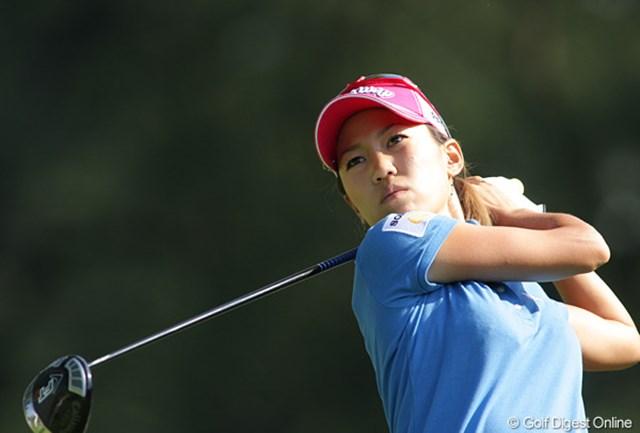 2009年 全米女子オープン 初日 上田桃子 「迷った時は、振り切りました。」