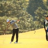 ほんと軸が全然ぶれない。 2015年 ゴルフ日本シリーズJTカップ 3日目  ハン・ジュンゴン