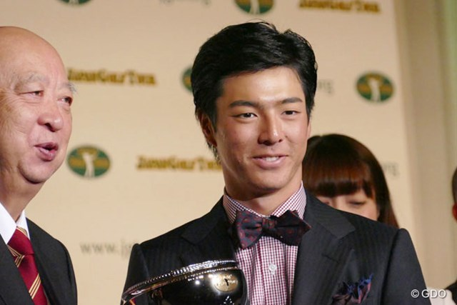国内ツアー7戦の出場で2勝を挙げた石川遼が9年連続のMIP賞を受賞した