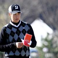 学生日本一の称号を引っさげ、レギュラーツアーで1年目のシーズンを迎える長谷川祥平 2015年 ファイナルQT 長谷川祥平