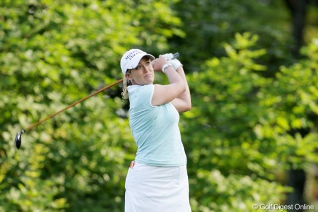 2009年 全米女子オープン 2日目 クリスティ・カー 全米女子オープンにはめっぽう強い?