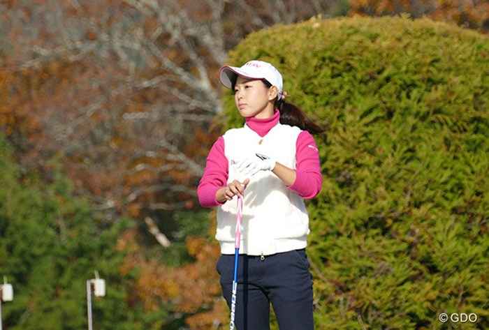 2015年 LPGA新人戦加賀電子カップ 最終日 森美穂