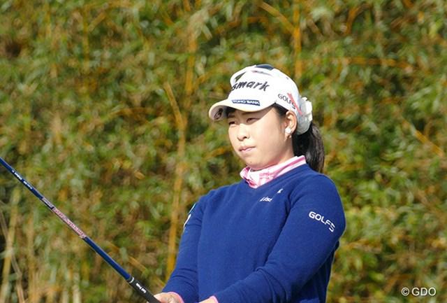 2015年 LPGA新人戦加賀電子カップ 最終日 武尾咲希