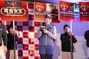2015年 Hitachi 3Tours Championship 事前 イ・ボミ