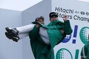2015年 Hitachi 3Tours Championship 最終日 池田勇太 キム・ヒョンソン