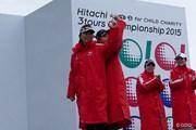 2015年 Hitachi 3Tours Championship 最終日 上田桃子 テレサ・ルー