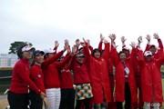 2015年 Hitachi 3Tours Championship 最終日 LPGAチーム
