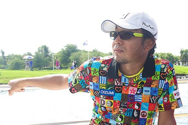 「タイランドゴルフ選手権」で13位と健闘したが、1ランクの浮上に留まった片山晋呉 ※画像は大会提供