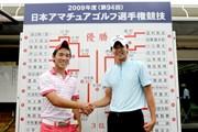 2009年 日本アマチュアゴルフ選手権 伊藤誠道