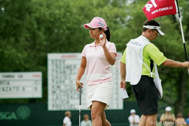 2009年 全米女子オープン 3日目 宮里藍 今週初となるイーブンパーをマーク、17位タイに浮上した宮里藍