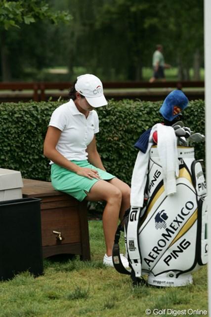 2009年 全米女子オープン 3日目 ロレーナ・オチョア お疲れ?優勝戦線に絡めない。